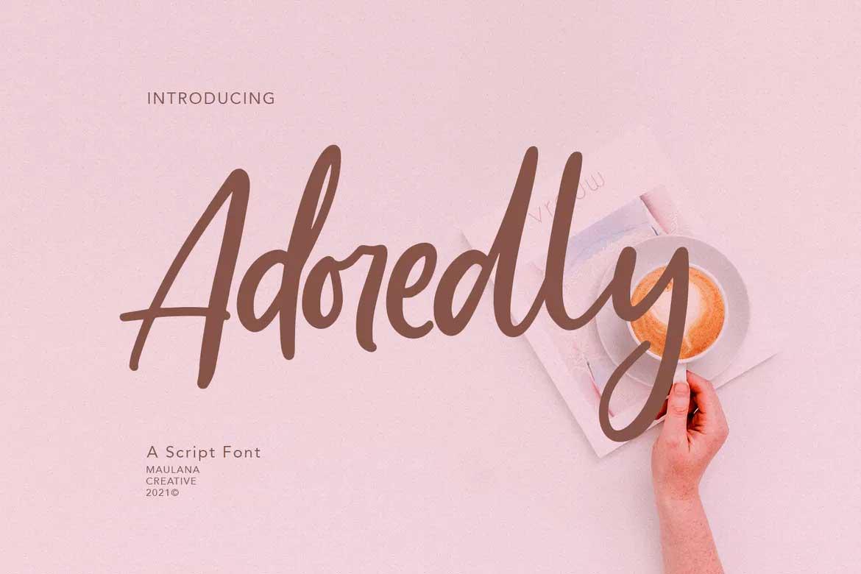 Adoredly Script Font