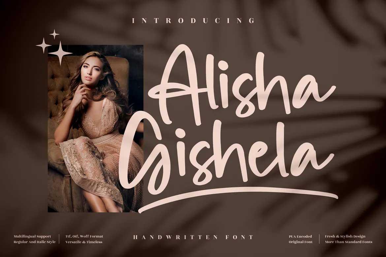 Alisha Gishela Font