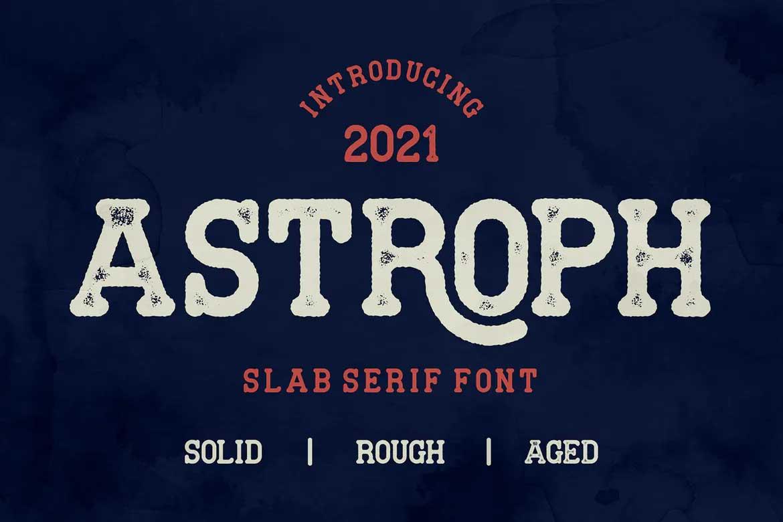 Astroph Font