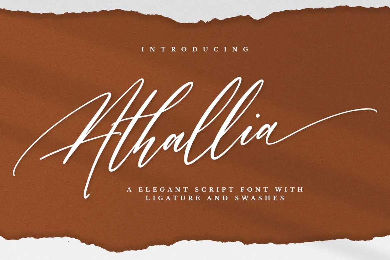 Athallia Font