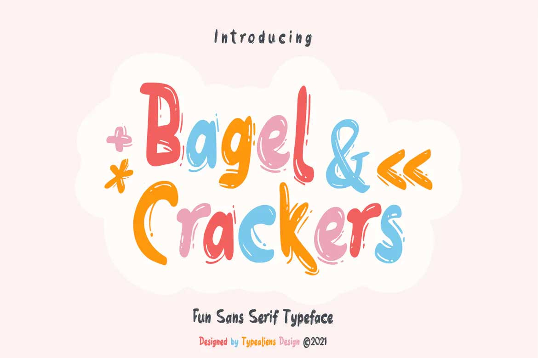 Bagel & Crackers Font