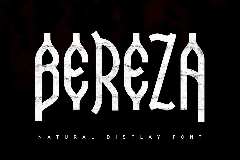 Bereza Font