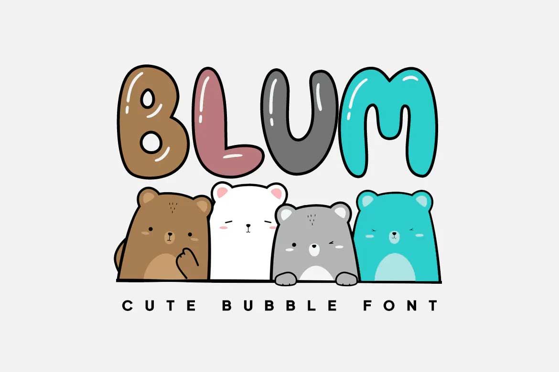 Blum Font