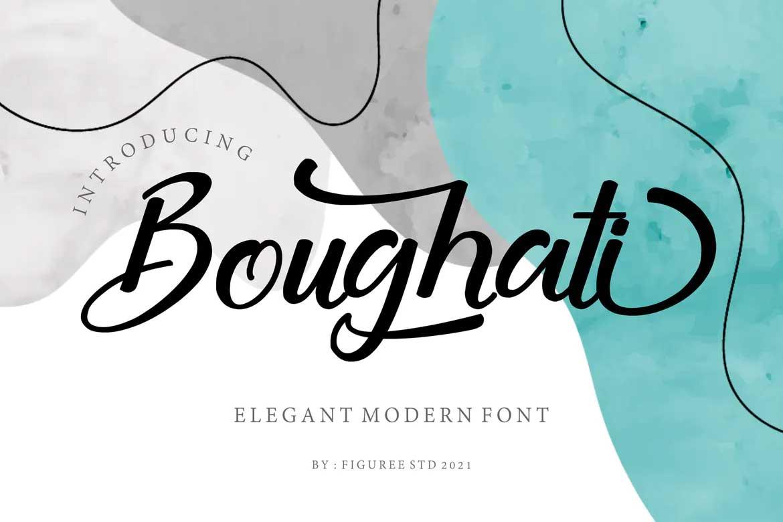 Boughati Font