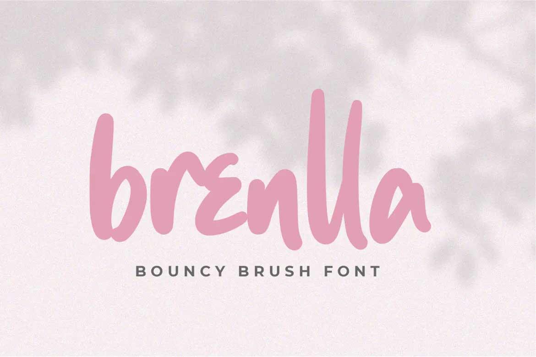 Brenlla Font