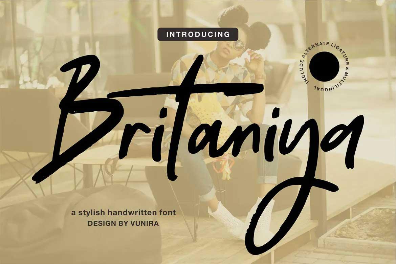 Britaniya Font