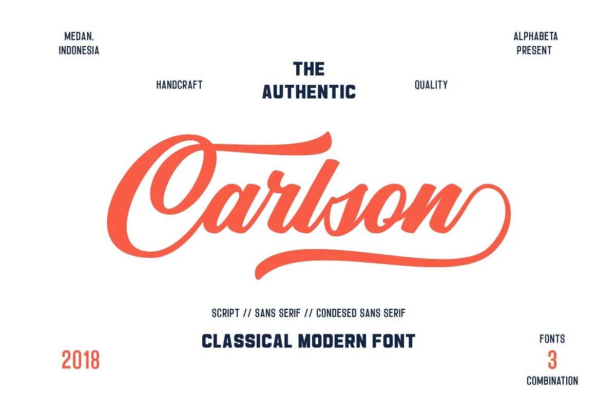 Carlson Font