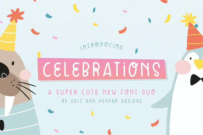 Celebrations Font