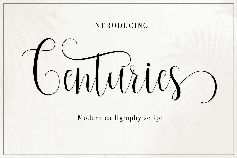 Centuries Font