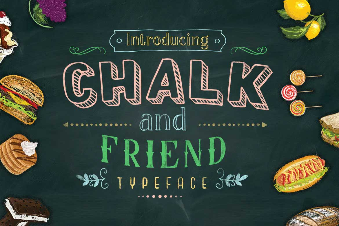 Chalk and Friend Font