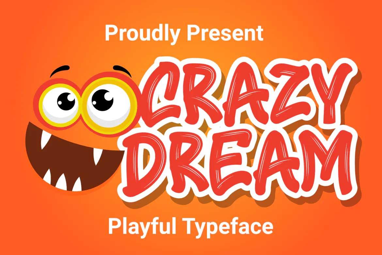 Crazy Dream Font