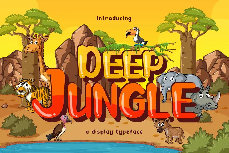 Deep Jungle Font