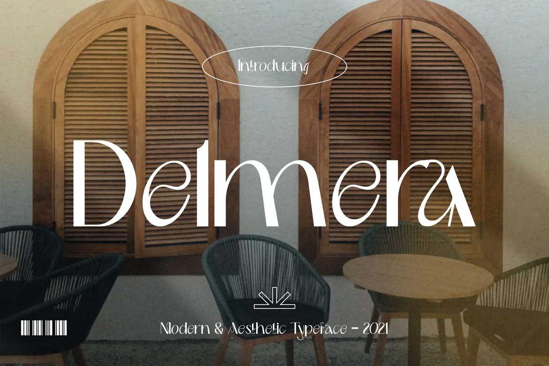 Delmera Font