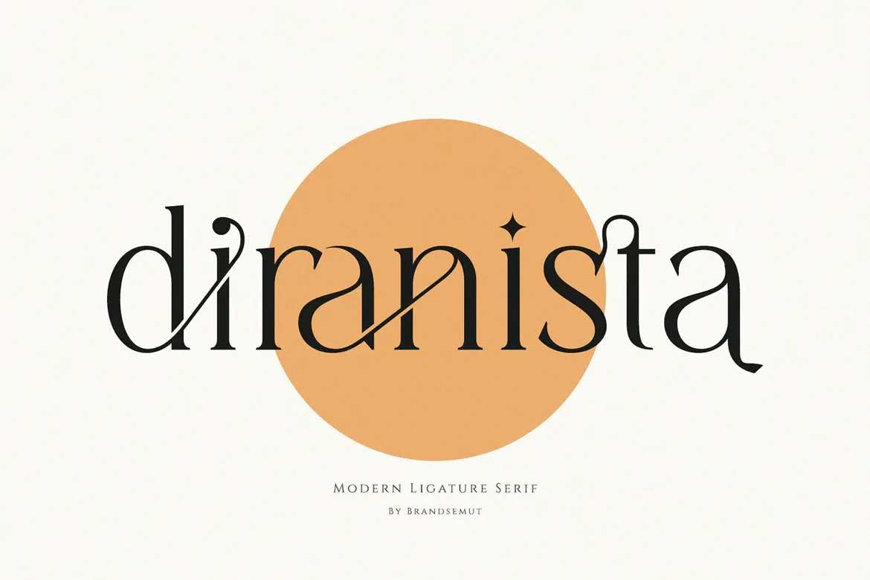 Diranista Font