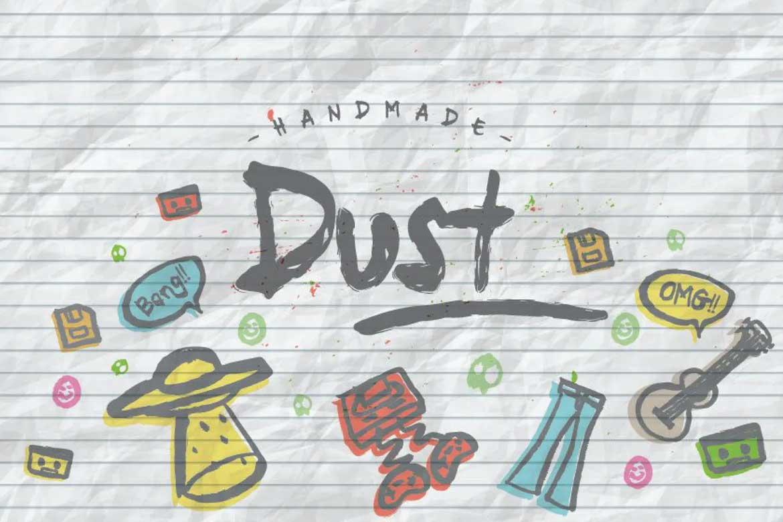 Dust Font