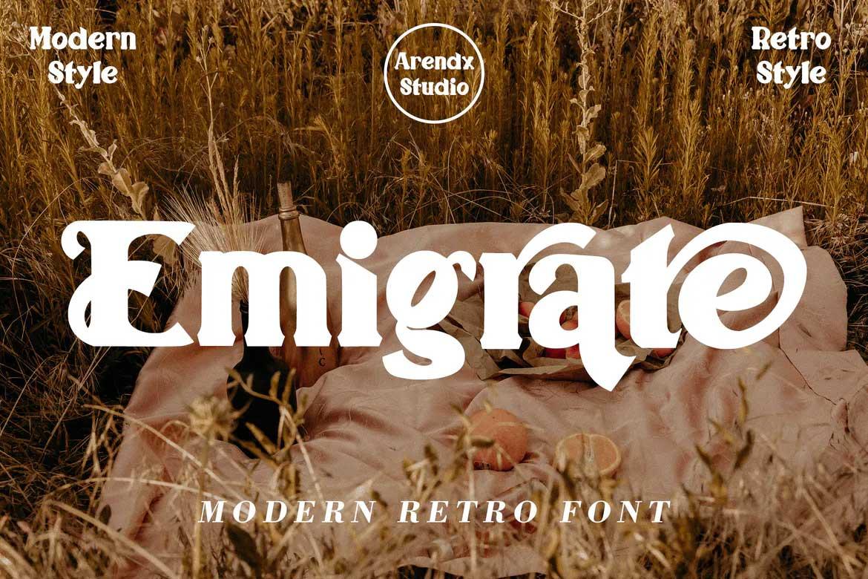 Emigrate Font
