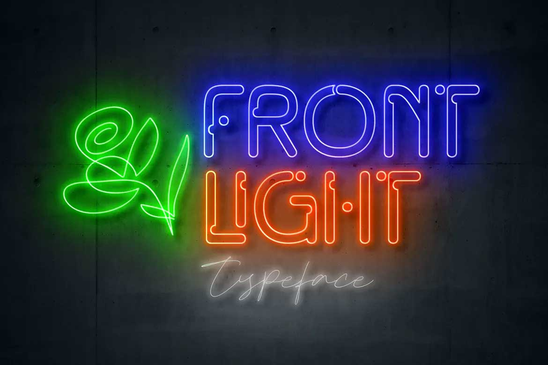 Front Light Font