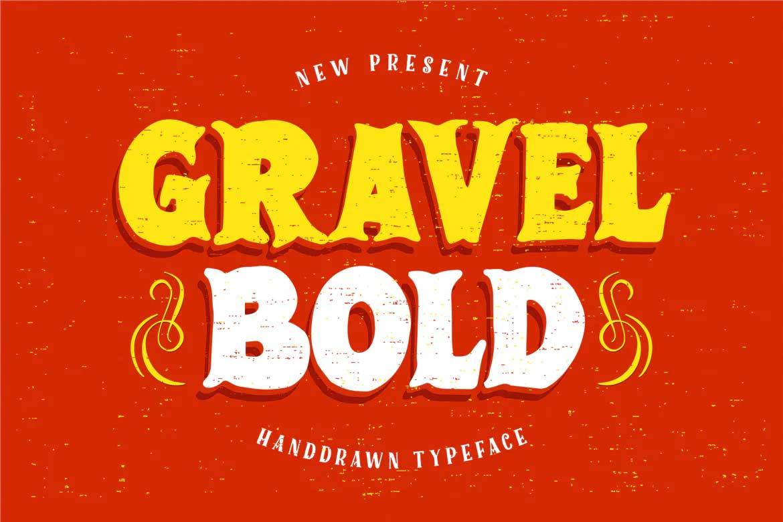 Gravel Bold Font