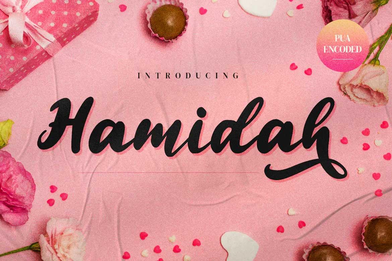 Hamidah Font