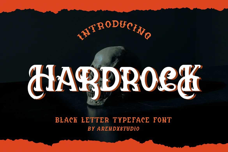 Hardrock Font