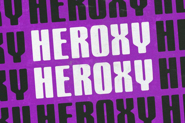 Heroxy Font