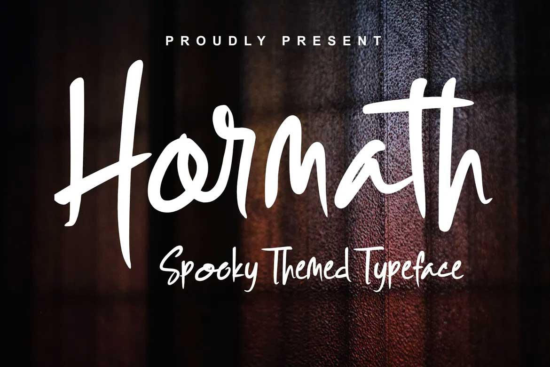 Hormath Font