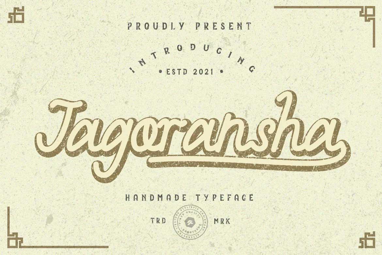 Jagoransha Font