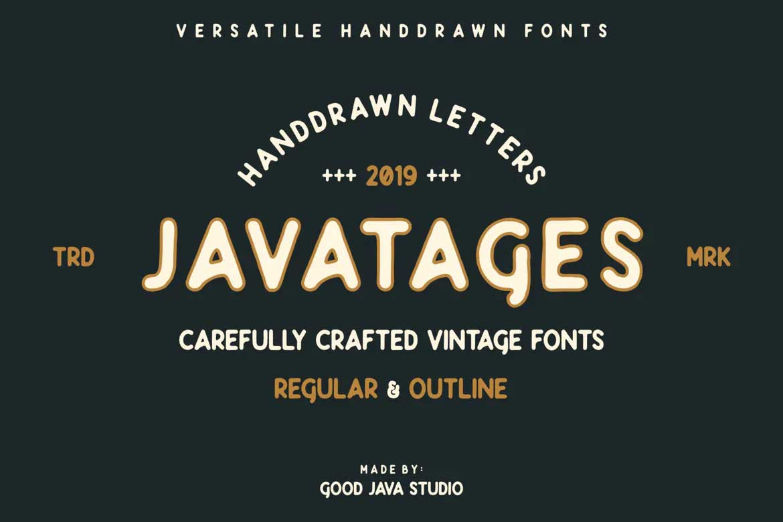 Javatages Font