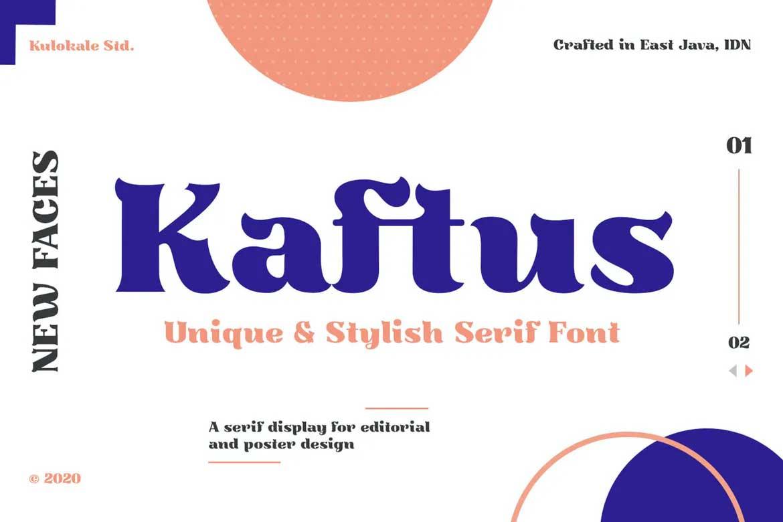 Kaftus Font