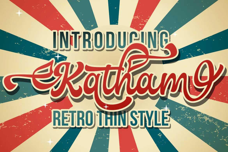Katham Font