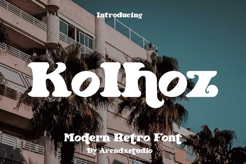 Kolhoz Font