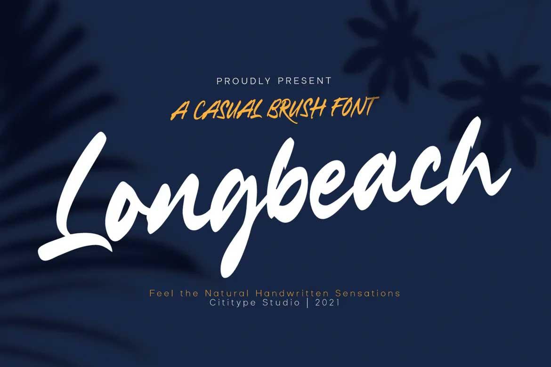 Longbeach Font