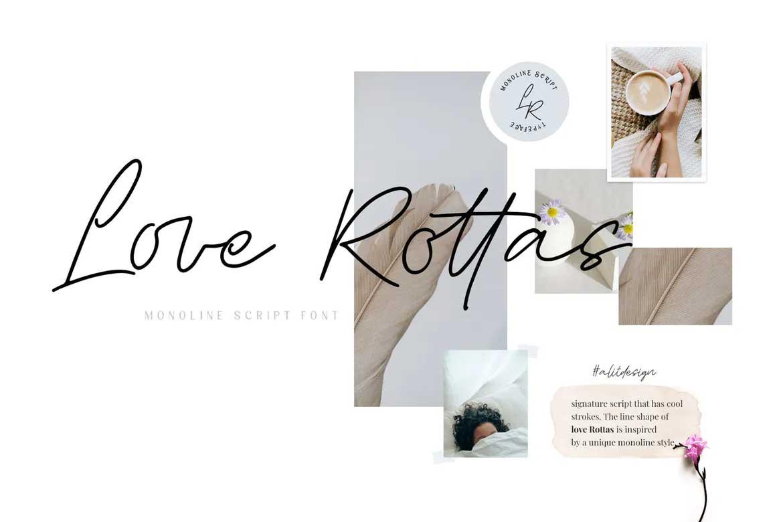 Love Rottas Font