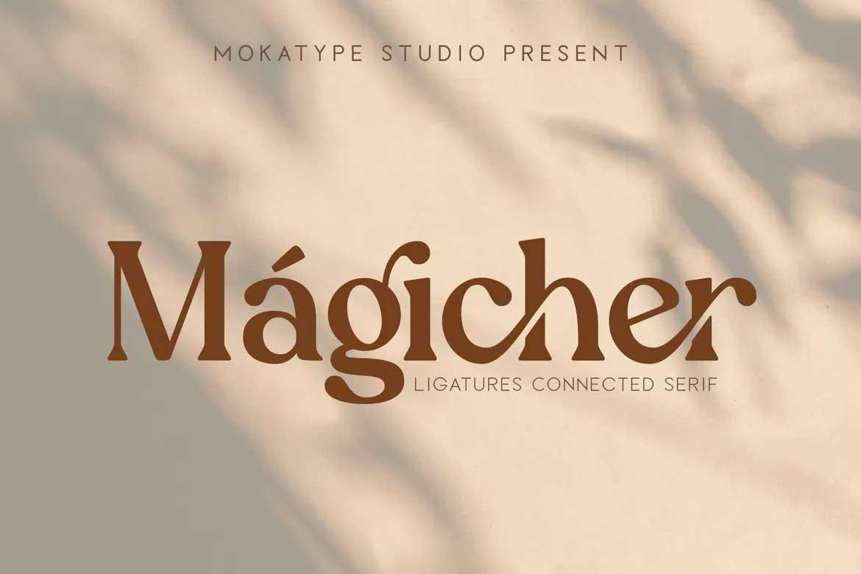 Magicher Font
