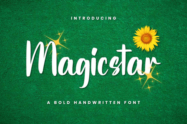 Magicstar Font