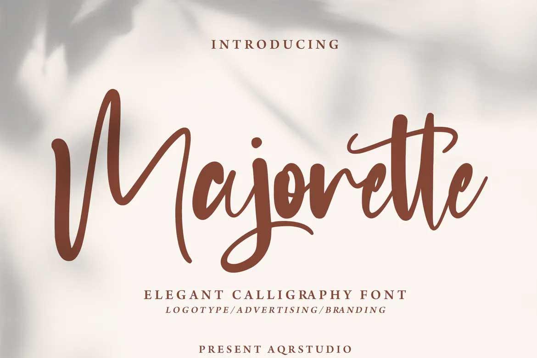 Majorette Font