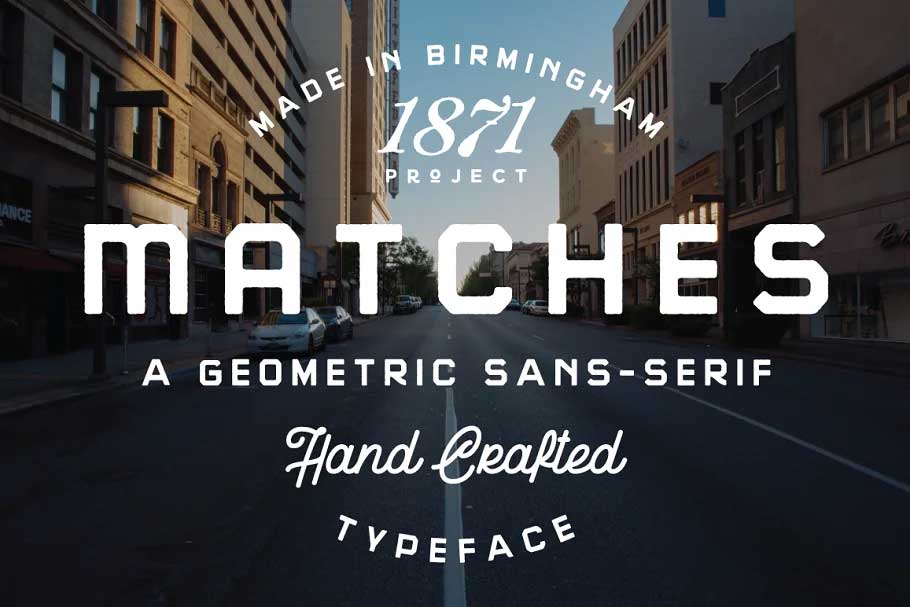 Matches Font