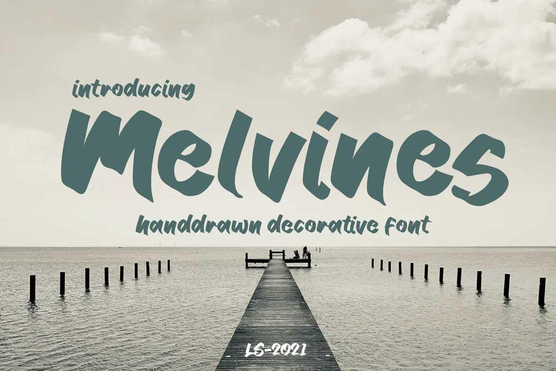 Melvines Font
