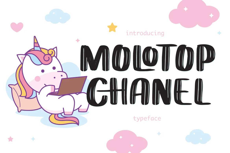 Molotop Chanel Font