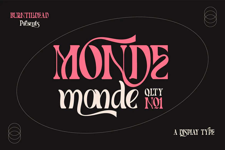 Monde Font