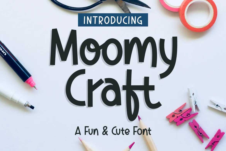Moomycraft Font