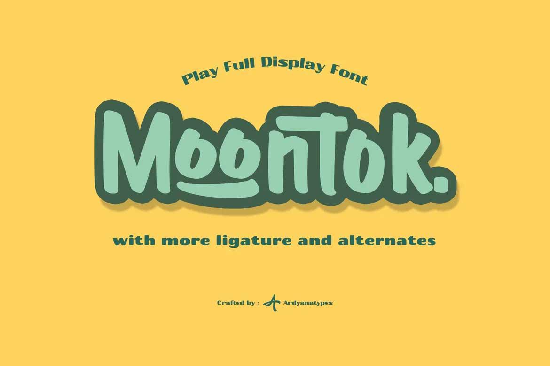 Moontok Font