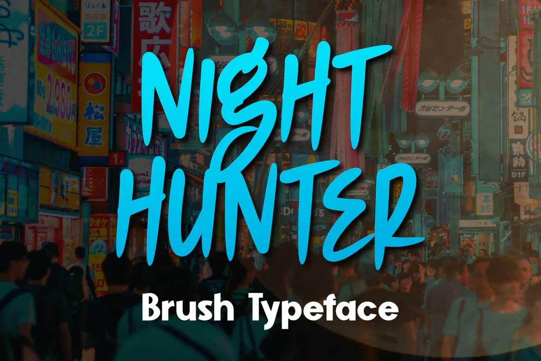 Night Hunter Font