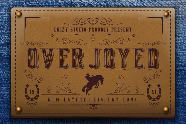 Overjoyed Font