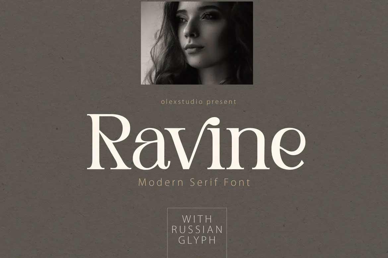 Ravine Font
