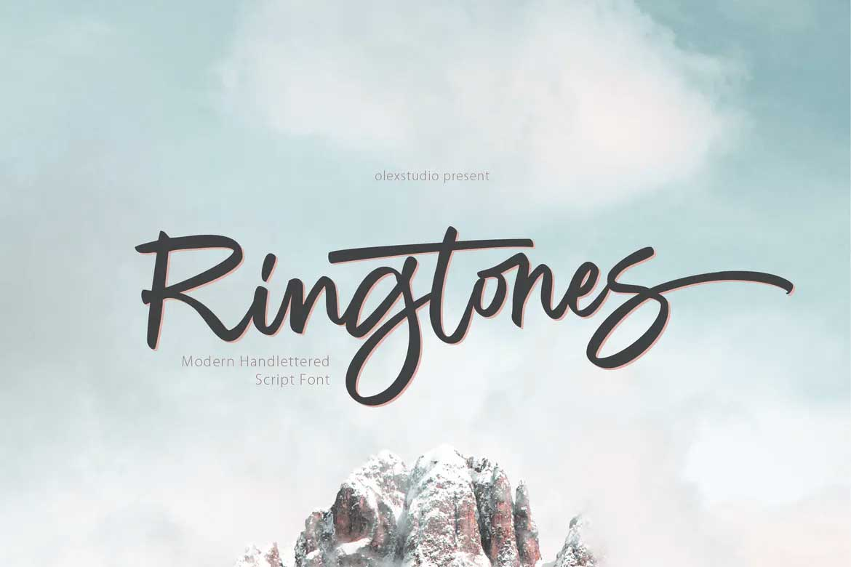 Ringtones Font