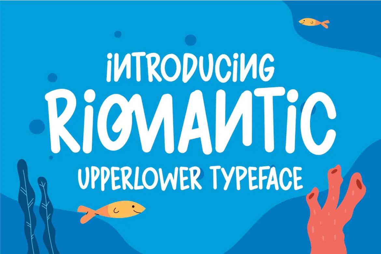 Riomantic Font