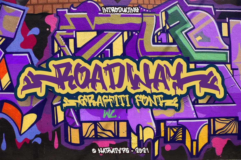 Roadway Font
