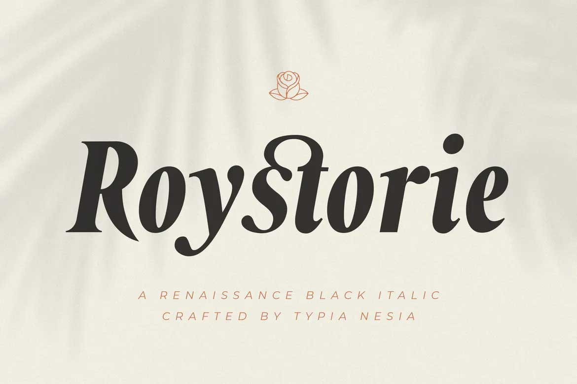 Roystorie Bold Font