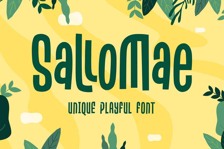 Sallomae Font